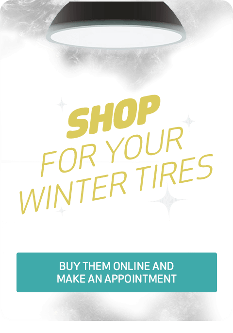 Shop for your winter tires: Buy them online and make an appointment